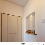 新築玄関照明|人感センサー付き屋外連動や北欧や和風照明の工夫