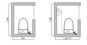 新築 一戸建て トイレ 広さ 幅