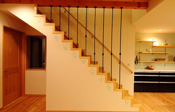 新築階段間取り位置