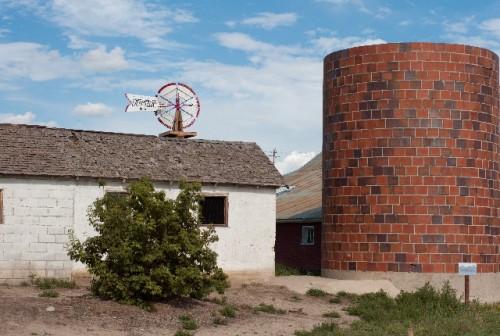 長方形の家