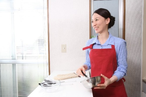 新築キッチン勝手口必要性 窓の配置