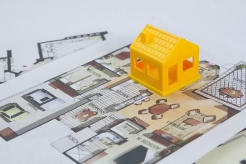 新築一戸建て間取り図作り方