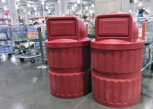 新築キッチンゴミ置き場設置蓋付ゴミ箱注意点