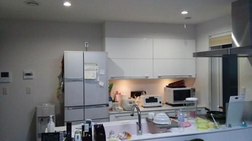 新築キッチン実例画像