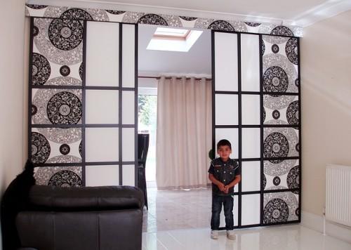 新築子供部屋間仕切り設計