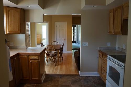 新築キッチン収納