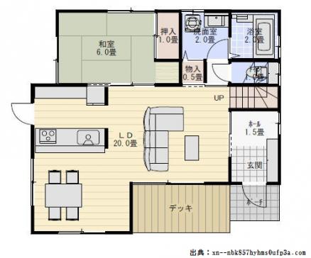 新築キッチン間取り配置実例画像付