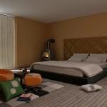 新築主寝室カーテンの選び方のコツ実例画像動画内覧会付