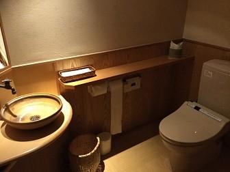 トイレ壁紙実例画像【旅館】