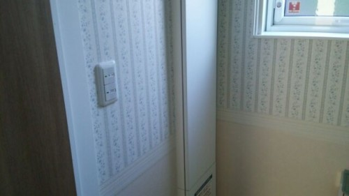 新築トイレの壁紙おしゃれ画像WEB内覧会