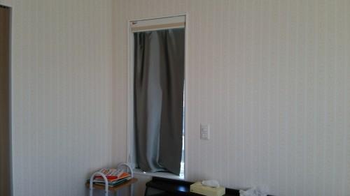 新築主寝室ベッド配置WEB内覧会