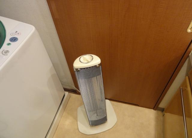 新築洗面所寒さ対策電気ヒーター注意点