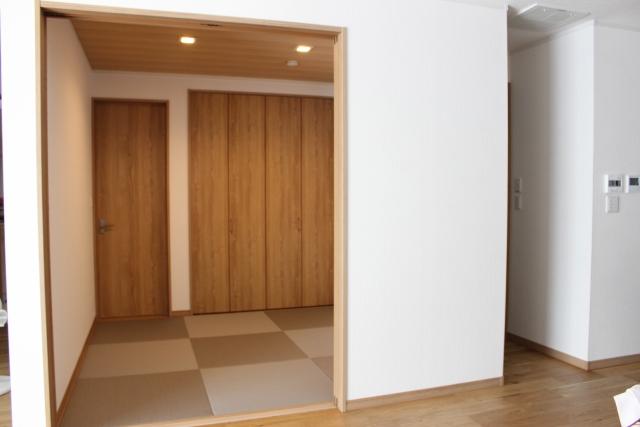 新築リビング和室インテリア成功法和室収納扉の選び方