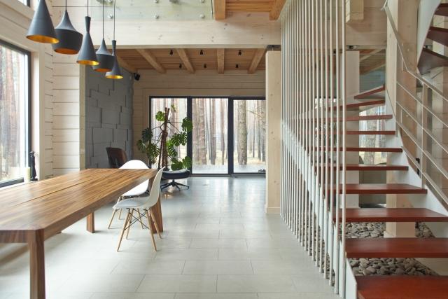 リビング階段の位置次第によっては会話の妨げになる可能性