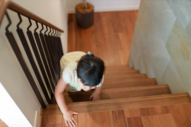 新築階段間取りを1階奥にした理由生活動線