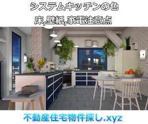 システムキッチン色の見落としポイント