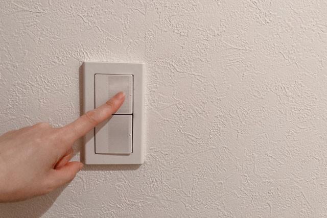 新築トイレ照明スイッチ操作と移動動線