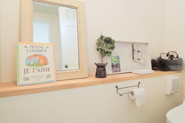 新築注文住宅間取り図作り方 二階トイレは一階水廻り近くに配置