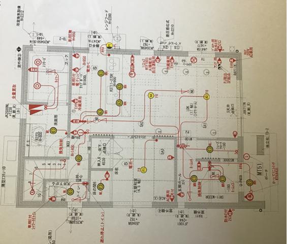 一条工務店ismart配線計画