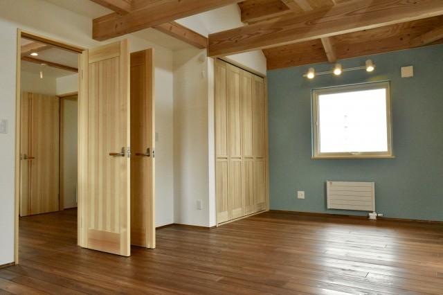 新築子供部屋間仕切り設計相談 まずは1つの部屋前提で作る
