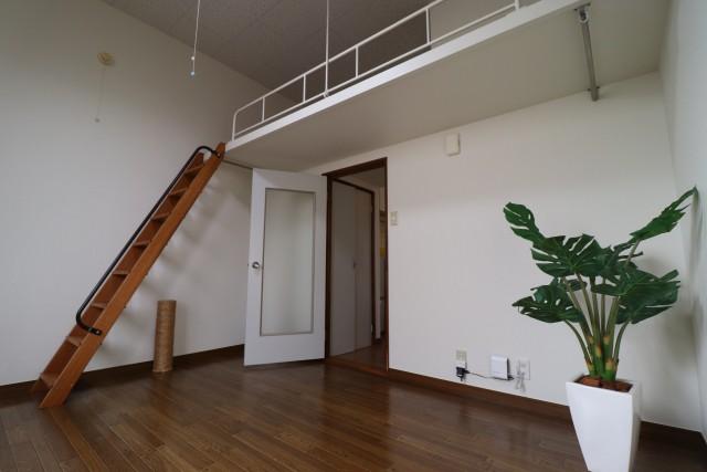 新築子供部屋ロフト注意点 はしごの管理