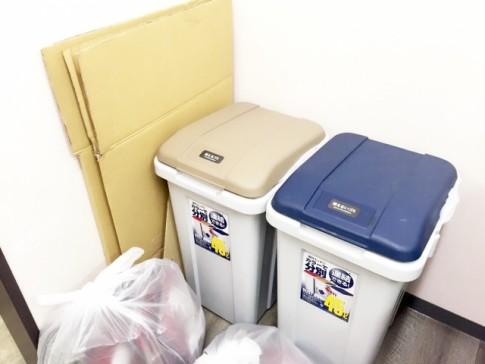 新築キッチンゴミ箱置き場注意点勝手口コンロ近く