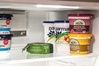 新築冷蔵庫キッチンの配置