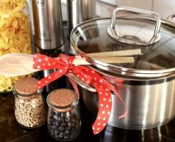 新築システムキッチン調味料収納の理想