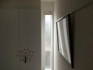 新築玄関窓