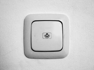 ウォークインクローゼット照明スイッチ