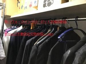 狭いウォークインクローゼット収納術衣類