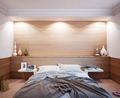 寝室アクセントクロス