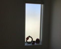 吹き抜け窓カーテン代用品