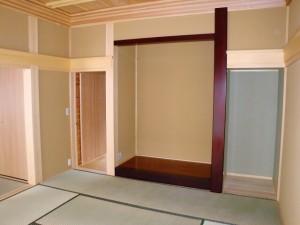 和室床の間のある空間