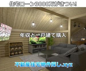 住宅ローン3000万がきつい戸建購入