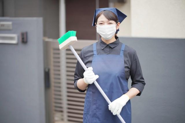 玄関タイルの掃除方法